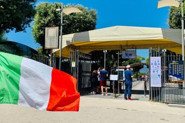 Pompei, green pass per visitare gli Scavi