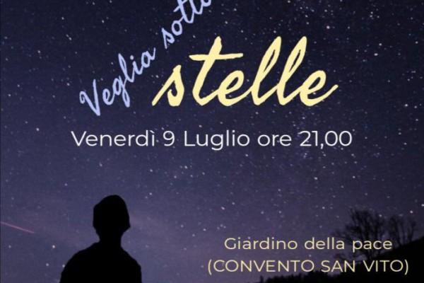 Veglia sotto le stelle promossa dalla Pastorale giovanile di Nola e dei frati minori di Napoli