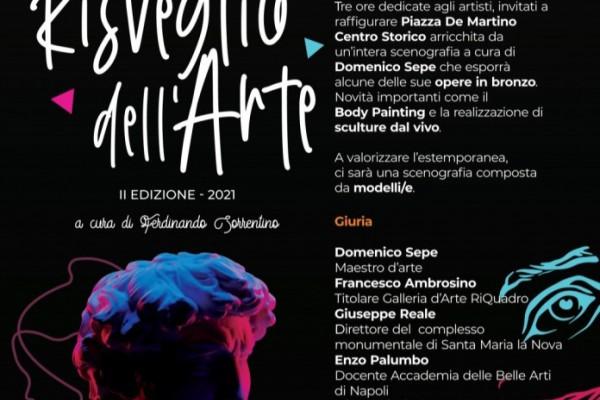 """""""Il risveglio dell'arte"""": a Palma Campania torna l'estemporanea di pittura"""