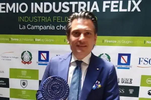 Il Premio Industria Felix all'Azienda Nappi