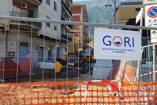 Palma Campania a secco d'acqua in alcune strade