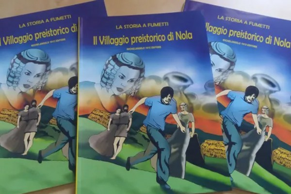 Il fumetto sul Villaggio Preistorico di Nola (video)