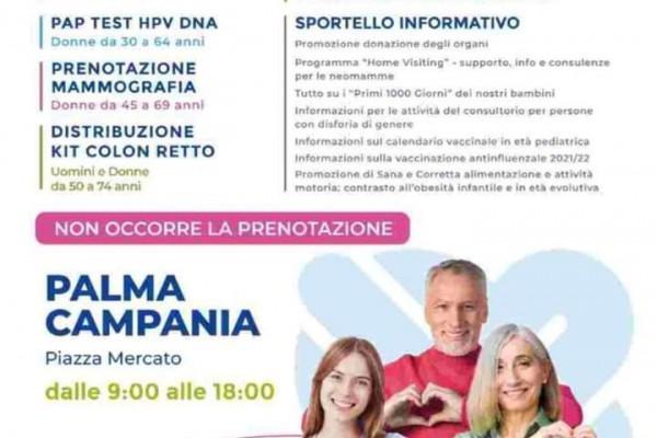 Pienz'a salute: Palma Campania dalla parte della prevenzione