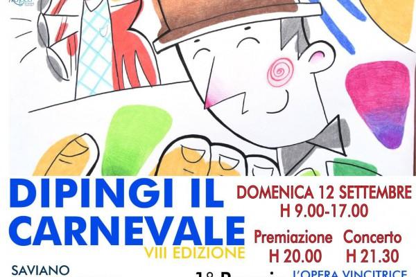 Dipingi il Carnevale: aperte le iscrizioni a Saviano