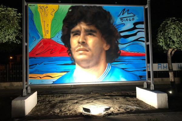 Palma Campania inaugura 'Largo Maradona'