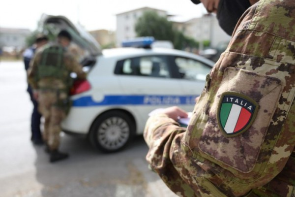 Palma Campania, attività interforze per contrastare l'abbandono illecito di rifiuti