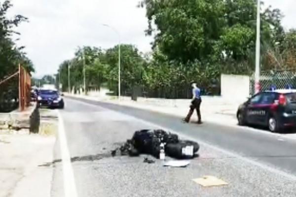 Scontro tra una moto e un camion a Palma Campania: centauro finisce in ospedale