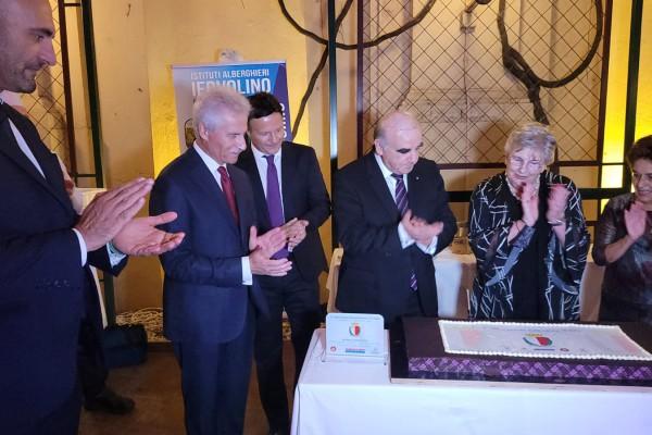 I Carissimi di Raffaele Iervolino alla celebrazione dell'anniversario dell'Indipendenza di Malta