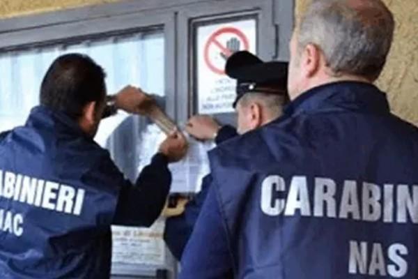 Controlli a tappeto dei Carabinieri del NAS. Oltre 800 chili di alimenti sequestrati
